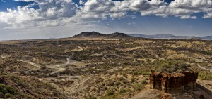 Olduvai Gorge, eastern Serengeti Plain