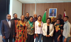 Wegeningen University Students pay a visit to the Ambassador - The Hague - March 2016