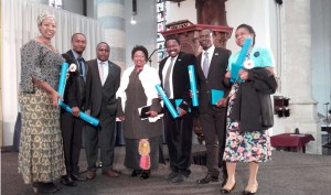 Ambassador and Head of Consular Affairs attend the UNESCO IHE Students' Graduation - Delft - April 2016